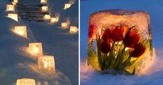 Lys upp vintermörkret med lyktor av snö och is! | Land