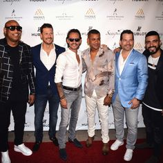 "To celebrate this year's Major League Baseball All-Star game and the event's debut in Miami, sports legends and music stars joined global music icon, @marcanthony for ""The Magnus All Star Bash"" presented by @Hublot. @alexandergdz @felipe_pimiento @rumbaman66 @iamluisfigueroa @MagnusMediaUSA #HublotLovesBaseball #magnusstrong #Magnuskindanight #marcanthony"