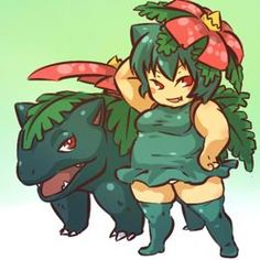 Pokemon gijinka Venusaur