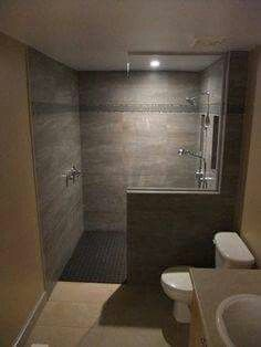 How To Finish A Basement Bathroom Basement Ideas Pinterest - Basement bathroom installation cost for bathroom decor ideas