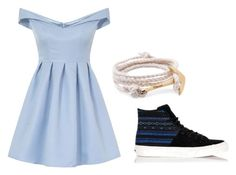 """""""Classy boat dock"""" by life-on-a-horse ❤ liked on Polyvore featuring Chi Chi, MIANSAI and Vans"""