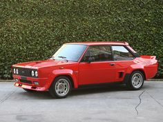 Fiat Abarth 131 Mirafiori. Designed by Bertone 1976-1978
