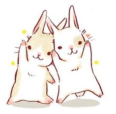 Find images and videos about cute, kawaii and bunny on We Heart It - the app to get lost in what you love. Kawaii Illustration, Illustration Photo, Illustrations, Rabbit Illustration, Bunny Drawing, Bunny Art, Cute Bunny, Kawaii Drawings, Cute Drawings