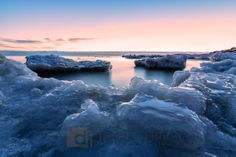 Predawn Pancake Ice | Daniel Frei Photography