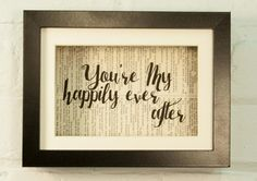 You're My Happily Ever After Love Wedding by CeceliaRosePaperie