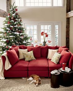 Beautiful Room Love The Addition Of Snow On Tree Repin By