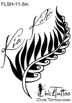 Kia Kaha Tattoo Flash Design.