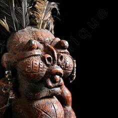 Portrait of Tikar Clay House God / Tribal Art–African Art / High Res Giclée Print / Orig COLOR PHOTOGRAPHY by PhotoClique