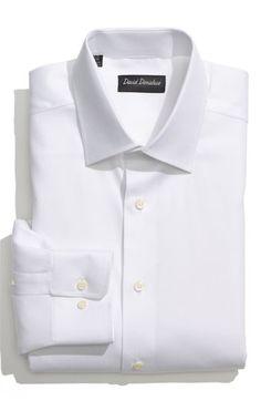 David Donahue Regular Fit Dress Shirt available at #Nordstrom