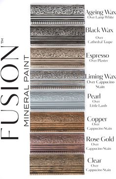 Fusion Furniture Wax Finishes