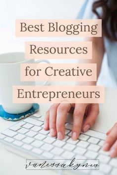 Are you looking for the best blogging resources for your creative small business? I am sharing my favorite tools to get started! #blogging