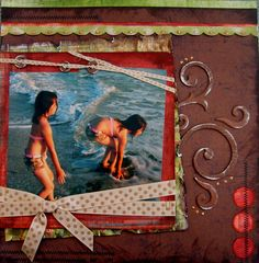 Scrapbook. ll. Destiny Makes A Splash - Scrapjazz.com