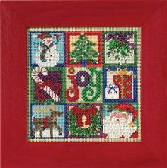 Mill Hill Buttons & Beads Winter Series Joy of by DebiCreations