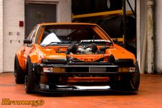 Toyota AE86 Driftworks lS7 engine #ToyotaAE86 #Driftworks
