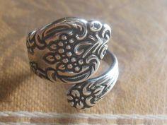 handmade Spoon ring