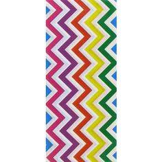 Multi Color Chevron Tissue Paper