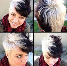 Kurzhaarfrisuren Mit Farbe Moderne Frisuren