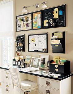 Crea tu propio centro de organización para casa