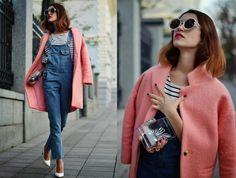 Tina Sizonova / PINK COAT //  #Fashion, #FashionBlog, #FashionBlogger, #Ootd, #OutfitOfTheDay, #Style