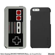 Retro Gaming INCIPIO WATSON iPhone Wallet Incipio Watson™ iPhone 6 Wallet Case
