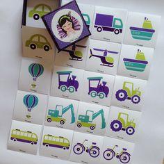 """""""Pia Polya Taşıt Görsellerini Eşleştirme Kartları""""  Kavram ve Hafıza oyunu olarak oynayabilirsiniz. Kartları ters kapatıp tek tek açarak eşinin nerede oldugnu bulmaya çalışınız.  12 ay ve 36 ay yaş arası çocuklar için  uygundur. A3"""