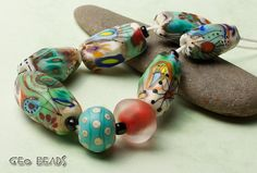 Lampwork Beads by Romana / February 2014