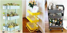 12 Ideas That Prove Everyone Needs an IKEA Raskog Cart
