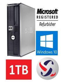 dell optiplex 760 desktop computer 8gb ram dual core with ms office works dell optiplex and dell desktop