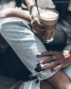 Nail game strong - Coffee game stronger
