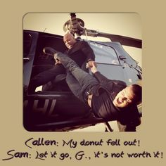 Callen, Sam and Deeks are my favorite characters