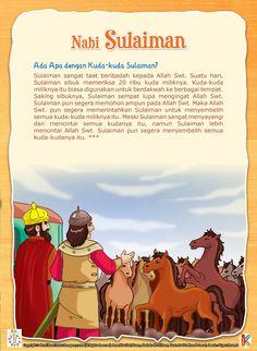 Nabi Sulaiman dan Dua Puluh Ribu Kudanya