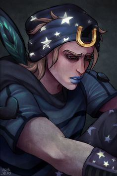 Steel Ball Run - Johnny Joestar (Fanart by /u/bidelle)