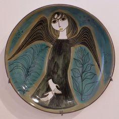 Sweet Mari Simmulson at Uppsala Art Museum Uppsala, Glass Ceramic, Ceramic Design, Vintage Textiles, Art Museum, Angeles, Mid Century, Pottery