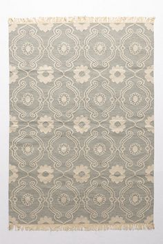 French Quartier Flatwoven Rug #anthropologie