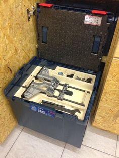 Hier zeige ich meine Lösung zum verstauen von Zubehör der GOF 1600 CE in der L-Boxx.