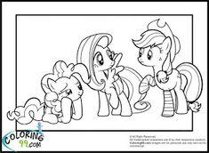 115 En Iyi My Little Pony Boyama Görüntüsü Coloring Pages My
