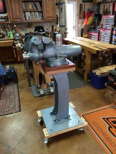 Vise and Grinder stands. I'm looking for ideas on how to use several in limited space - Page 16 - The Garage Journal Board