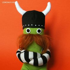 Viking Soft toys handmade. https://www.etsy.com/shop/Lemonus  Авторские мягкие игрушки ручной работы. http://lemonus.ru/ #viking #handmade #toy #mustache #lemonus #monocle #игрушка #ручнаяработа #усы #монокль #мягкаяигрушка #лимон