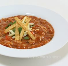 Ina's Mexican Chicken Tortilla Soup | Wives with Knives
