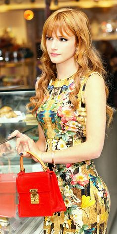 I'm in love with this dress worn by Bella Thorne