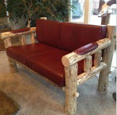 Rick and Vals log furniture