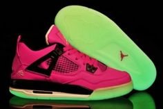 Women Jordan Shoes -jordan shoes for women Women Air Jordan 4 Glow Fuchsia [Women Air Jordan 4 - Here comes the special design of these women Air Jordan 4 shoes for you to choose. Jordan Shoes For Kids, Jordan 4, Air Jordan Shoes, Jordan Sneakers, Michael Jordan, Air Jordans, Jordans Girls, Retro Jordans, Shoes Jordans