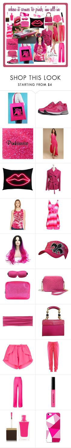 """""""all in"""" by caroline-buster-brown ❤ liked on Polyvore featuring Rock On Ruby, New Balance, LULUS, D&G, Lucky Brand, Flight 001, prAna, Versace, Dsquared2 and Bobbi Brown Cosmetics"""