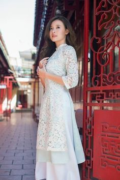 long dress , dress , modern vietnamese Aodai, ao d Source by etsy Fashion outfits Vietnamese Clothing, Vietnamese Dress, Vietnamese Traditional Dress, Traditional Dresses, Ao Dai Modern, Casual Dresses, Fashion Dresses, Kurta Designs, Beautiful Asian Women