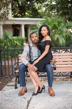 Harlem Renaissance Inspired Engagement Session in Ft. Lauderdale, FL: Kendra + Jonathan