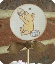 Classic Winnie the Pooh Yummy for your by LittlePaperFarmhouse