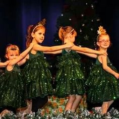 Christmas Trees Dancing.