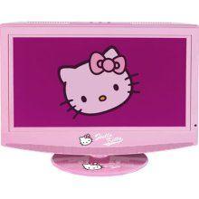 15 inch lcd tv on pinterest - Hello kitty fernseher ...