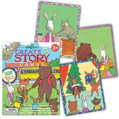 Carte e giochi da tavolo per inventare fiabe, favole e racconti - Tell Me a Story - Back to School - eeBoo