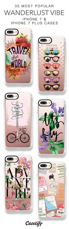 35 Most Popular Wanderlust Vibe Protective iPhone 7 Cases and iPhone 7 Plus Cases. More Travel iPhone case here > https://www.casetify.com/collections/top_100_designs#/?vc=FwVLEfAP8c